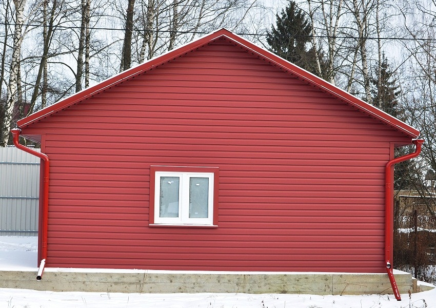 самом дома обшитые цветным профнастилом фото вот, каприо